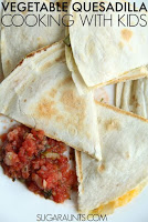 Vegetable Quesadilla Recipe