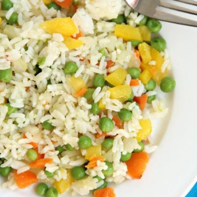 Easy Vegetable Rice Recipe Kids will Eat