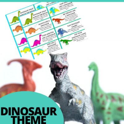 Dinosaur Proprioception Activities