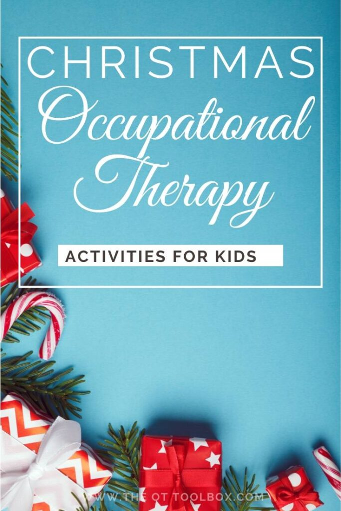 Christmas OT activities