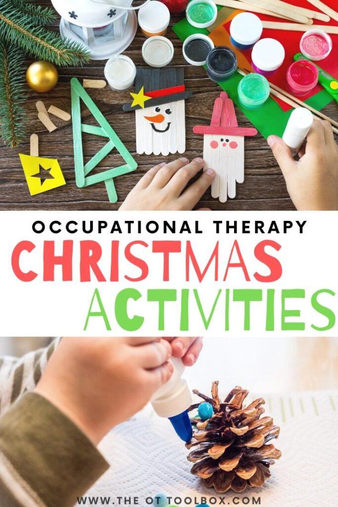 OT Christmas activities