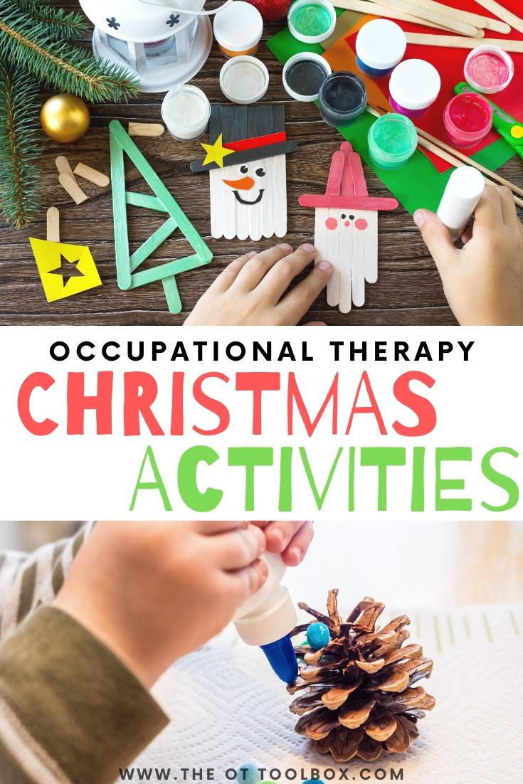 A Very Merry Occupational Therapy Christmas The Ot Toolbox