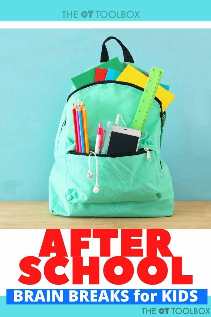 after school brain breaks