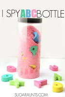 Alphabet Discovery Bottle