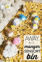 Egg Carton nativity set