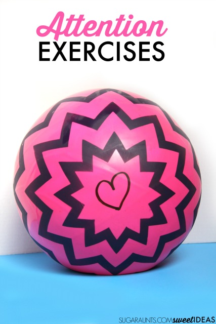 Try these sensory movement activites and exercises for helping kids learn to pay attention.  Easy ball therapy exercises using proprioception and core muscle strengthening with a frugal and easy alternative to a therapy ball.  Occupational Therapy tips for kids.