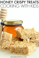 Honey Peanut Butter Crispy Treats