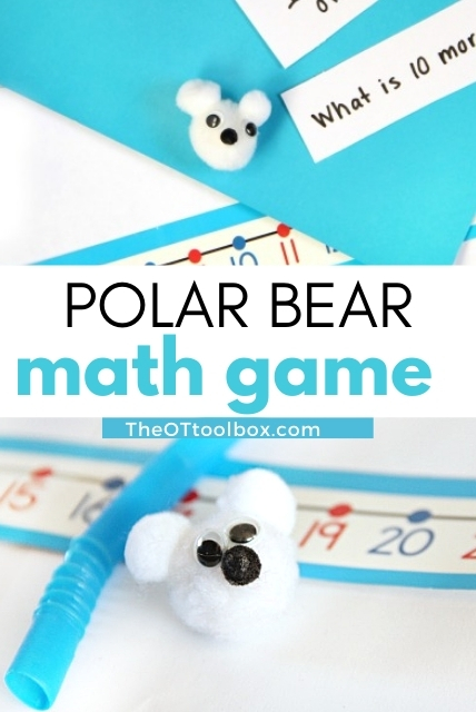 polar bear math game