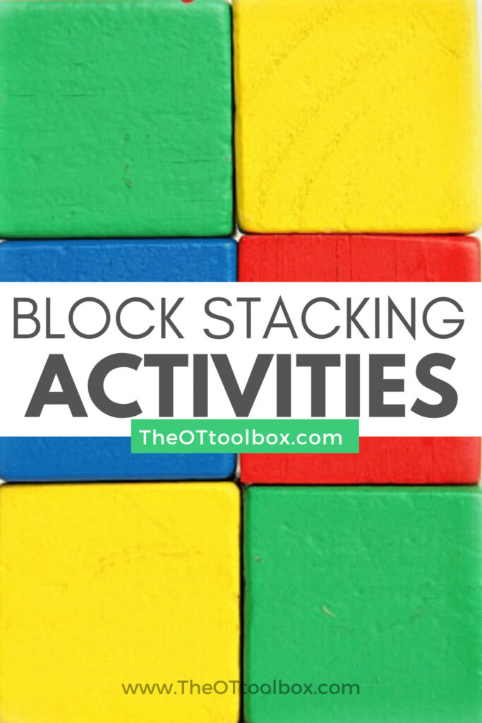 These block stacking games and block activites can help kids develop skills.