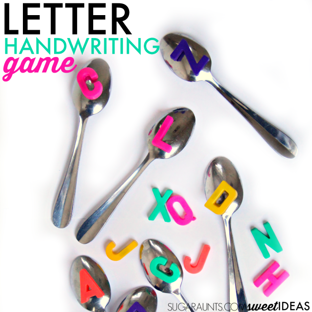 letter identification and formation activity