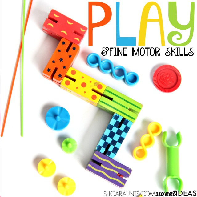 Building fine motor skills through play