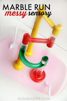 Oobleck in the Marble Run