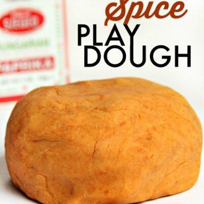 Paprika Natural Play Dough Recipe