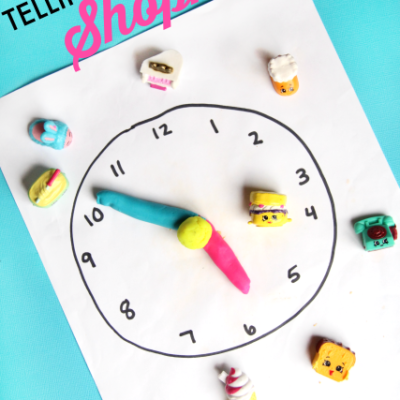 AM PM Time Telling with Shopkins