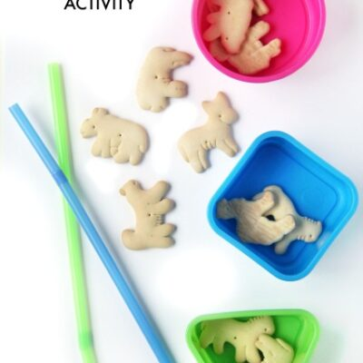 Animal Cracker Oral Motor Exercise