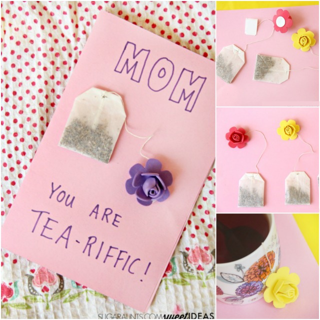 Mother's Day Craft You Are Tea-Riffic Card - The OT Toolbox