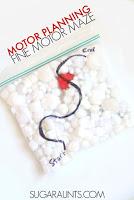 Motor Planning Fine Motor Maze