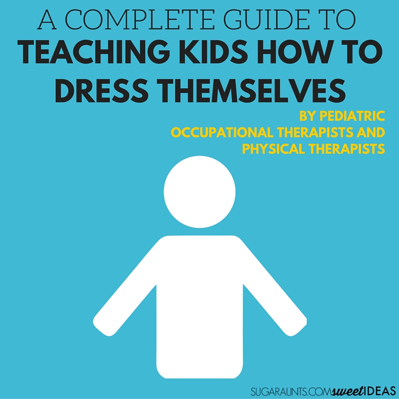 Tips to help kids to get dressed on their own