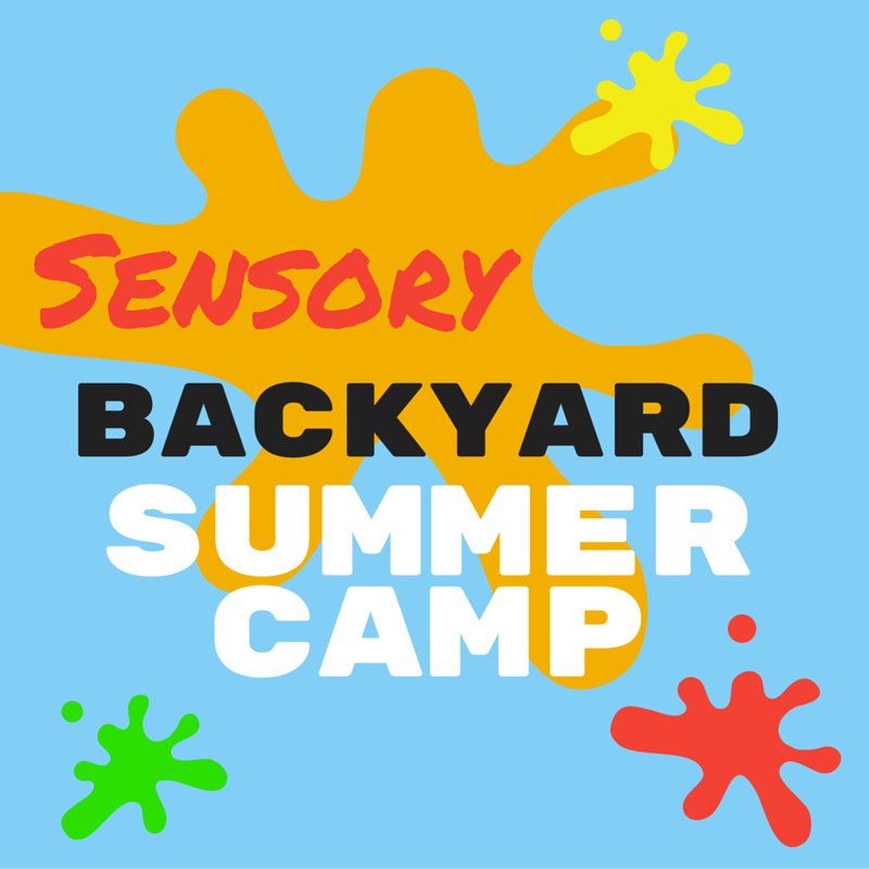 Sensory Summer camp at home ideas for kids with sensory processing needs