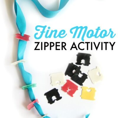 Teach Kids How to Use a Zipper