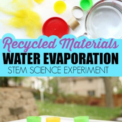 Recycled Materials STEM Evaporation Experiment