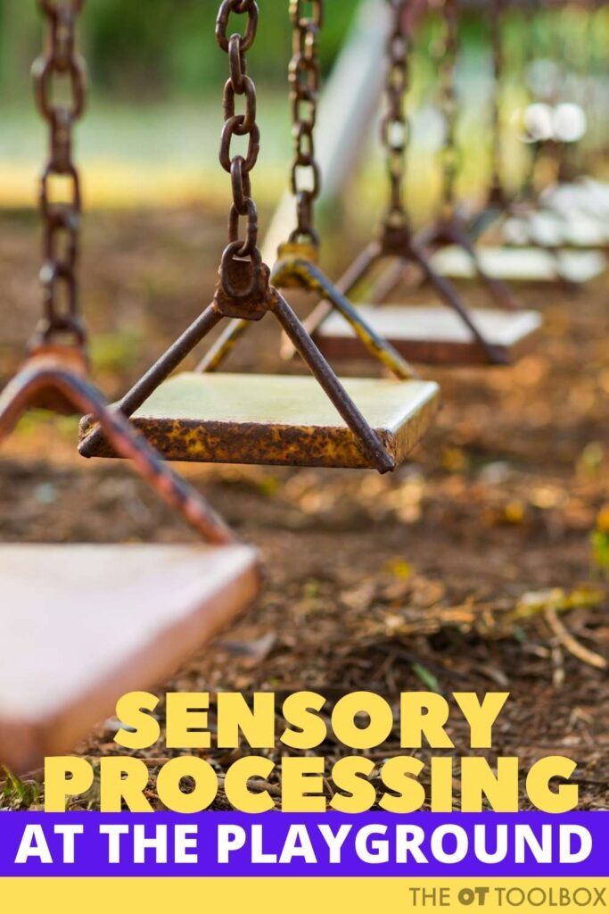 sensory processing at the playground