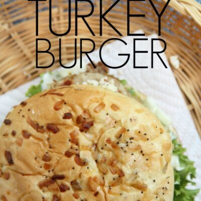 Juicy Greek Turkey Burger Recipe