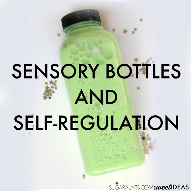 Sensory bottles and self-regulation