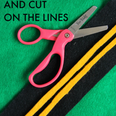 Teach Kids How to Slow Down to Cut on Lines With Scissors