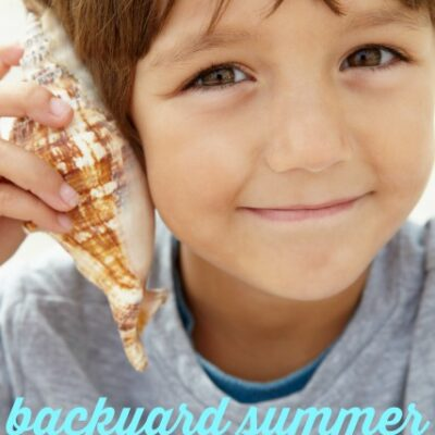 Auditory Processing Backyard Sensory Activities