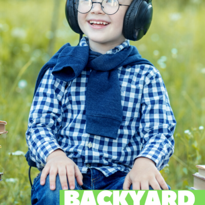 Auditory Sensory Activities the Backyard