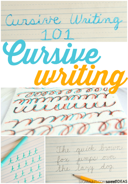 How to teach cursive letters to kids and students with creative tricks and tips