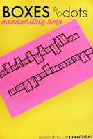 Boxes and Dots Handwriting Method