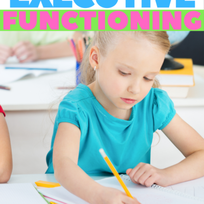 When Executive Function Skills Impair Handwriting