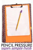 Pencil Pressure Handwriting Trick