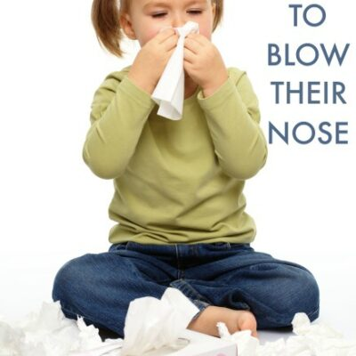 Tips to Help Kids Learn How to Blow Their Nose