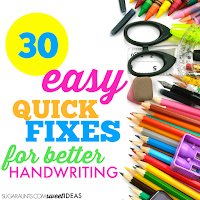 Easy handwriting tricks and tips