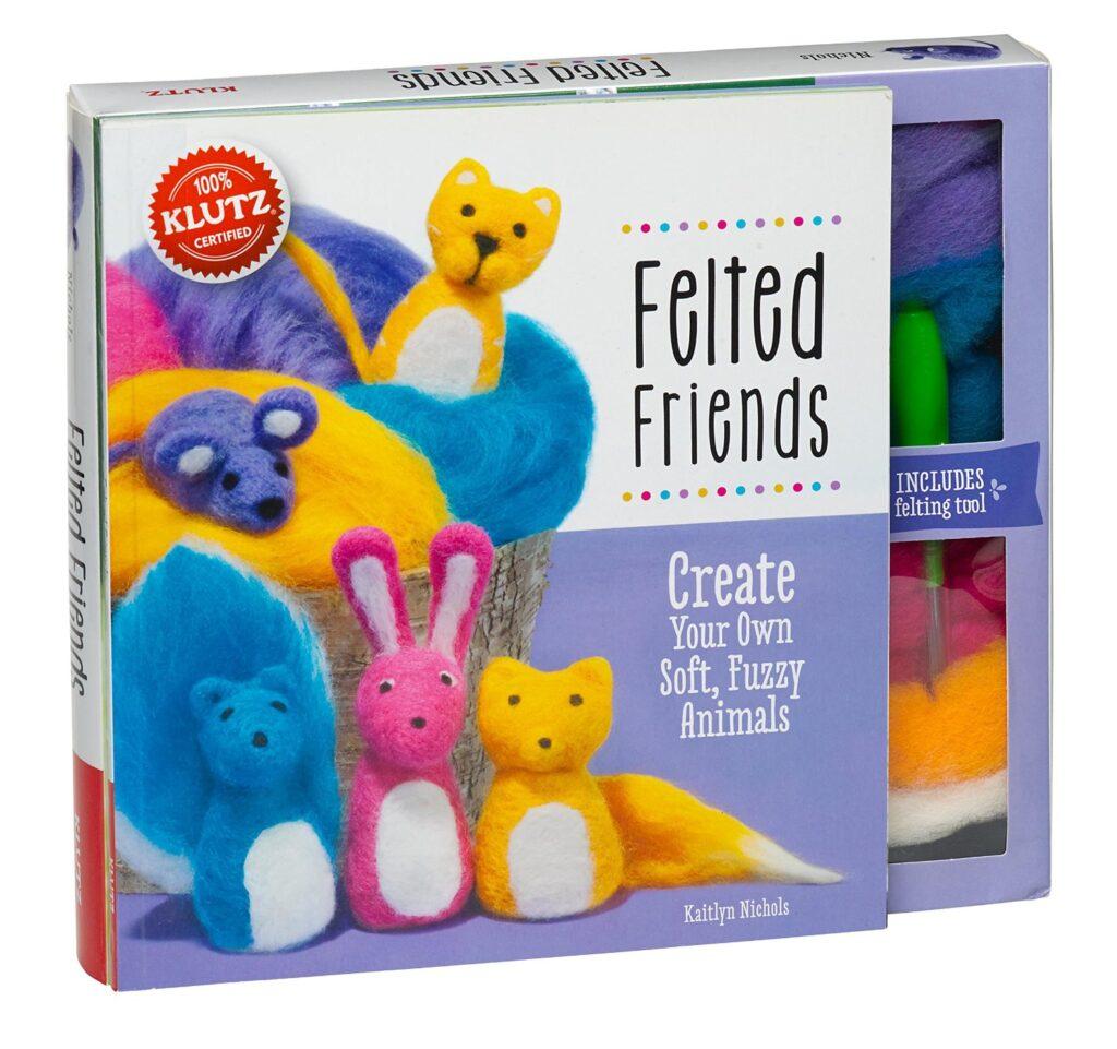 Felted crafts for kids