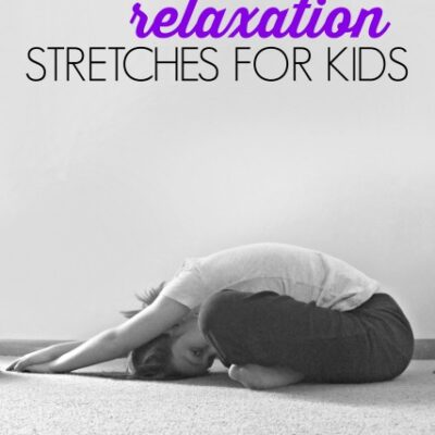 Bedtime Relaxation Stretches for Kids