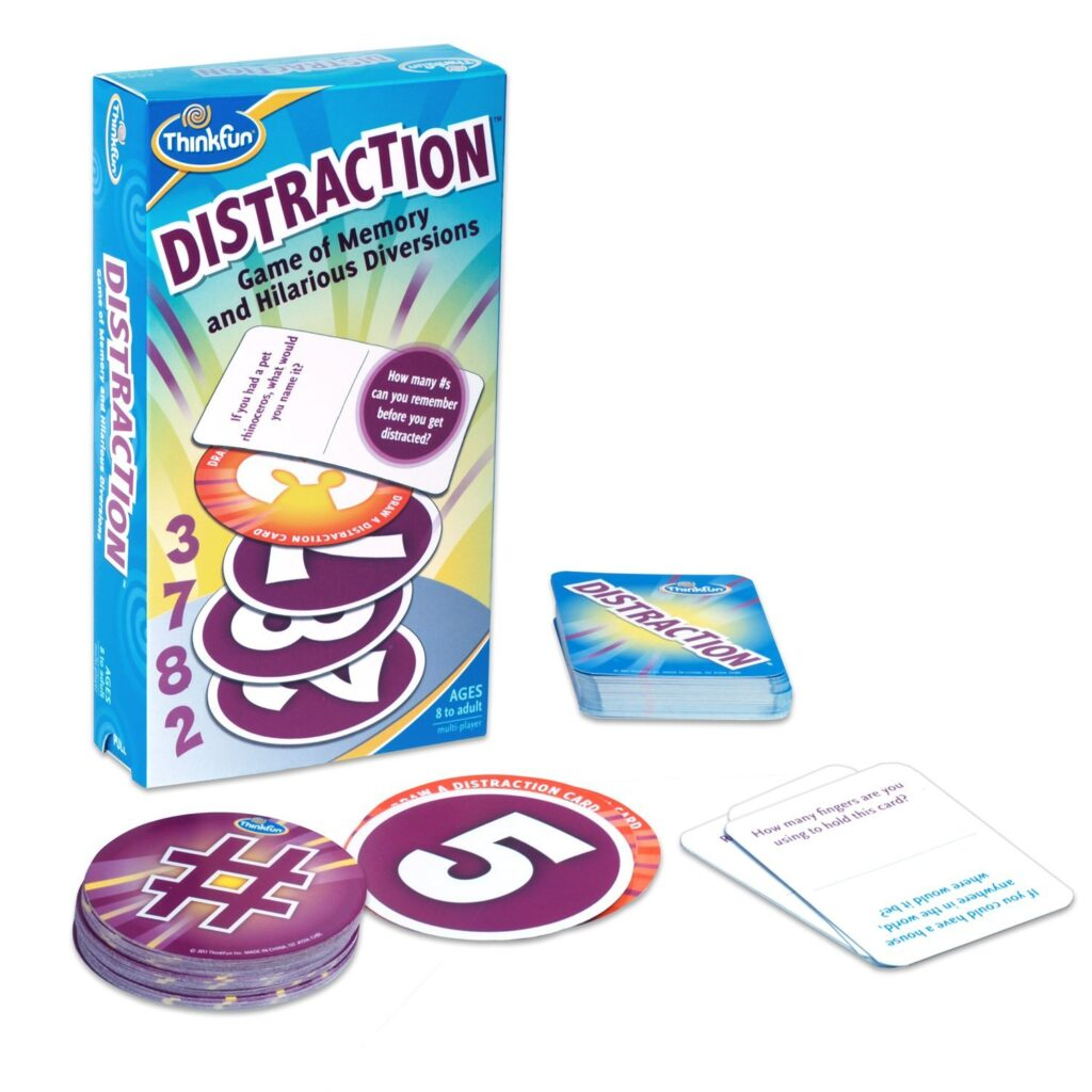 Executive function game for helping kids deal with distractions