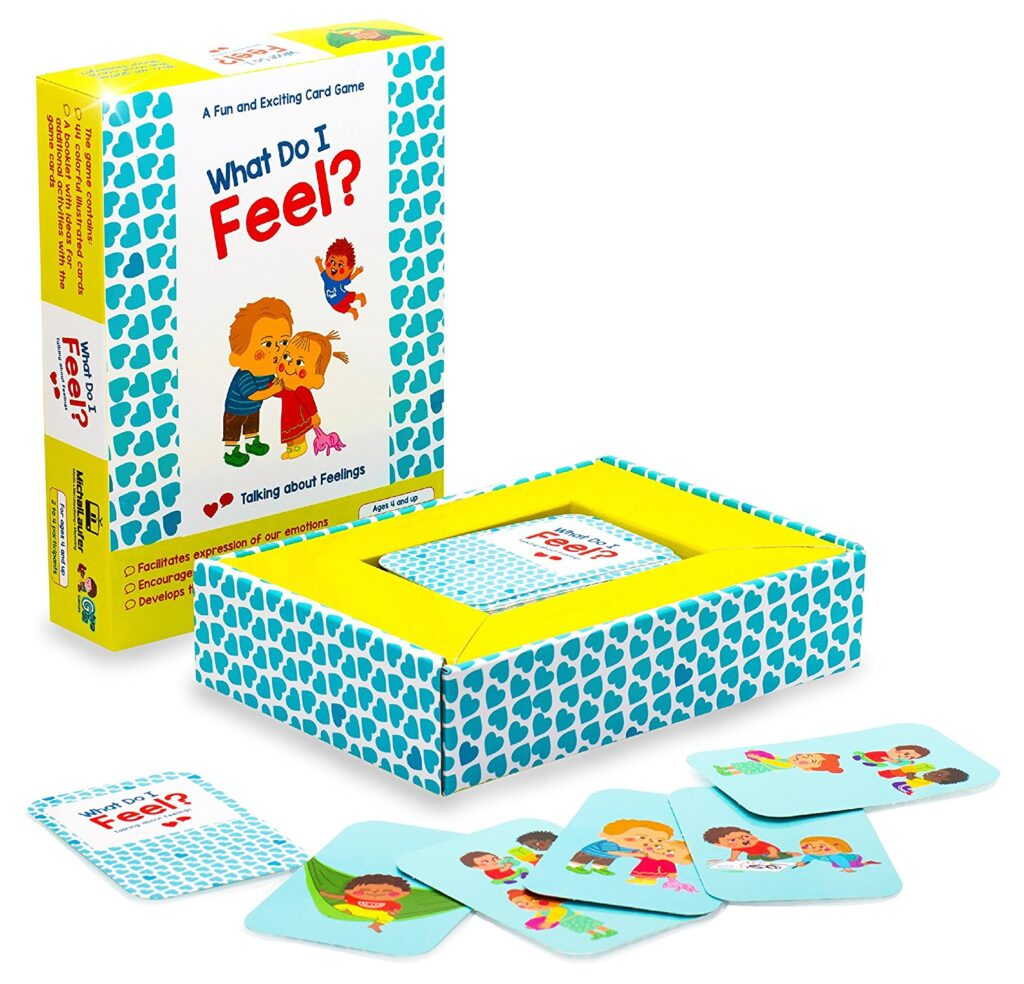 What Do I Feel emotions game for kids