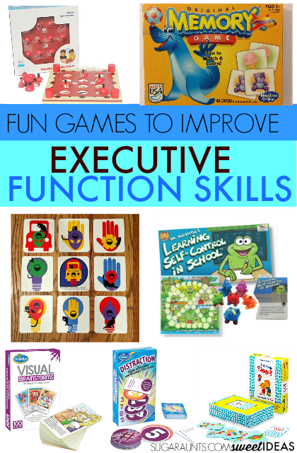 Strengthening Executive Function >> Games To Help Kids Improve Executive Functioning Skills
