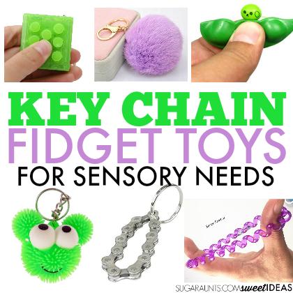 keychain fidget toys