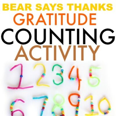 Bear Says Thanks Activity