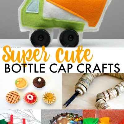 Surprising DIY Pretend Toys from Bottle Caps
