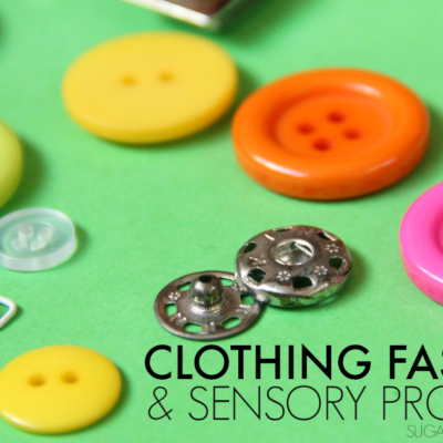 Clothing Fasteners and Sensory Processing Issues