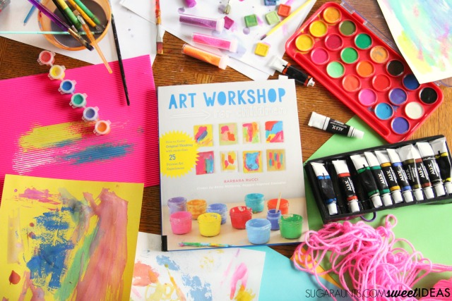 Grab the Art Workshop for Children book for creative art ideas.