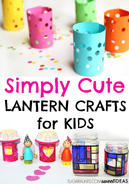 Cute Lantern Crafts for Kids