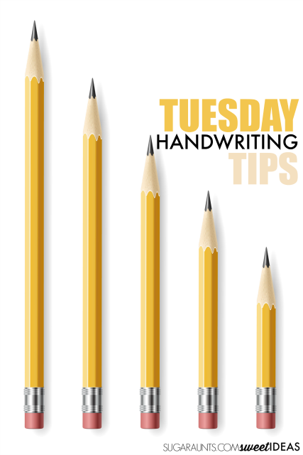 handwriting tips and strategies that use handwriting activities for better written work for kids