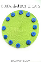 Build a clock first grade math